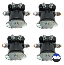 Set Of 4 Starter Car Truck Solenoid For Ford 12V Heavyduty Assembled In Usa