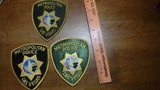 METROPOLITAN POLICE LAS VEGAS NEVADA POLICE DEPARTMENT  OBSOLETE PATCH BX  Z#6