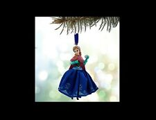 DISNEY Sketchbook Ornament ANNA Frozen NEW Christmas Holiday Princess Snowball