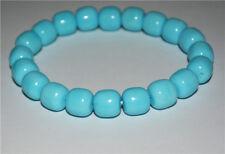 tibetan blue turquoise bracelet green mala prayer beads stone natural genuine