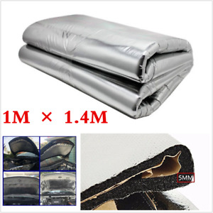 1MX1.4M Heat Shield Mat Car Turbo Exhaust Muffler Insulation Hood Engine Cotton