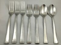 7 Reed & Barton Everyday Stainless GATEHOUSE Forks and Soup Spoons