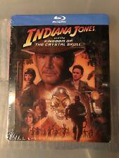 Indiana Jones and The Kingdom Of The Crystal Skull Blu-ray Steelbook New