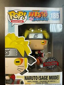 Funko Pop Naruto Shippuden : Special Edition : Naruto (Sage Mode) #185