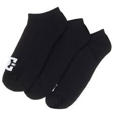 DC Black Classic Pack of 3 Ankle Socks