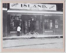 "ISLAND CURIO COMPANY 1905 EARLY HONOLULU HAND PRINTED PHOTOGRAPH ON 8X10"" MATT"