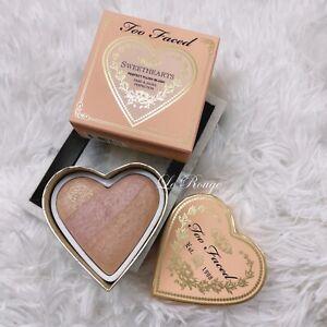 Too Faced Sweethearts PEACH BEACH Perfect Flush Blush 5.5g heart limited edition