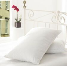 LUXURIOUS **85%  White Goose Feather and 15% Down Pillow Pair**