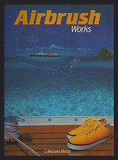 Airbush Works by C. Michael Mette (Paperback, 1990) ENGLISH, FRENCH & GERMAN