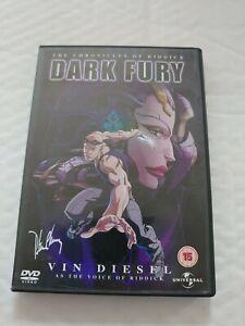 Dark Fury - The Chronicles Of Riddick VG  (DVD 2004)