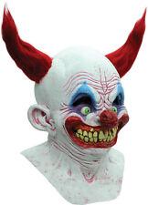 Halloween Costume CHINGO THE CREEPY CIRCUS CLOWN LATEX DELUXE MASK Haunted House