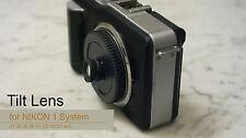 TILT Lens Body Cap Nikon 1 lens FOR J1 J2 J3 J4 V1 V2 V3 S1 CX Camera HOLGA