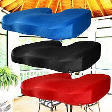 Memory Foam Coccyx Seat Pad Cushion Lumbar Pain Relief Chair Pillow Wheelchair