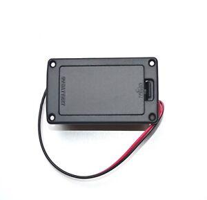 OEM-Batteriefach-für-Brett-E-Gitarre-9-Volt-Block-Batterie