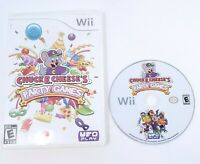 Chuck E. Cheese's Party Games Game  Nintendo Wii  TESTED FREE SHIPPING No Manual