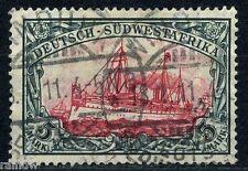 DSW 5 Mark Yacht 1906 Michel 32 A b geprüft (S7108)