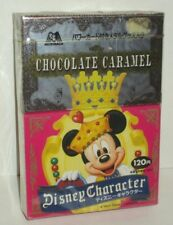 DISNEY CHARACTER CHOCOLATE CARAMEL CANDY AND PRIZE MORINAGA JAPANESE SEALED