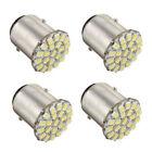 4X 1156 BA15S P21W 1129 Car White 22 1206 SMD LED Tail Signal Light Lamp Bu K6L5