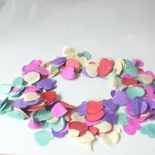 Biodegradable Cofitte  Rainbow Love Heart Wedding Party Confetti Table