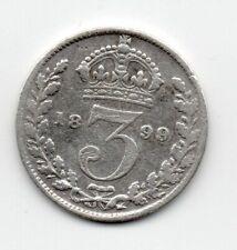 Great Britain - Engeland - 3 Pence 1899
