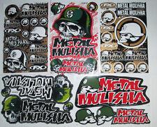 Metal Mulisha Decal Stickers Motocross,  Motorcycle, Bike & Car Racing  Set of 5