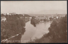 Switzerland Postcard - Geneve - La Jonction De L'Arne Et Du Rhone  RS1748