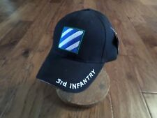 U.S.Military Army 3Rd Infantry Division Hat Cap Baseball Style Rock Of The Marne