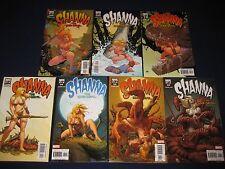 Shanna the She-Devil Full Run 1-7 (2005) Marvel Comics Kazar