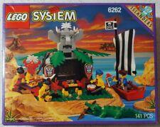 New Sealed 90s LEGO Set! KING KAHUKAS THRONE 6262 Islander tribe pirate vintage