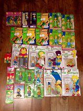 Grandes Figuras De Los Simpsons # & Coleccionables paquete 1990/1991 # Retro Raro Bart Homero #