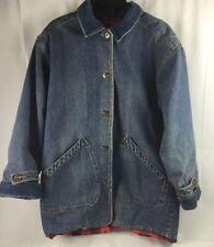 Brandon Thomas Vintage Blue Jean Denim Jacket Womens Sz Medium 14 / 16