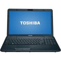 "Toshiba Satellite C655 15.6"" Laptop w/ Keypad Windows 7"