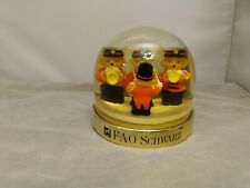 (S4) Vintage Snow Dome Globe - Fao Schwarz - limited edition
