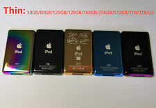 Thin 6 Colors Customizing Metal Back Case Housing Cover for ipod classic & video