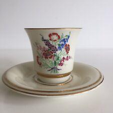 Tasse à café Marcel Goupy Maison Rouard Porcelaine Limoges Haviland Fleurs n°1