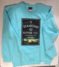 "Diamond Supply Co Men's Sweatshirt ""Paris"" Large New"