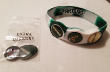 Wrist Skins Golf Ball Marker Bracelet,Michigan State Spartans,Magnet,Size Large