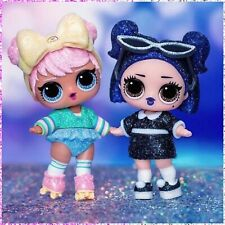 LOL Surprise DUSK & DAWN Sparkle Series Big Sisters Set Glitter NEW Rare VHTF