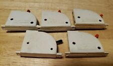 Lot Of 5 Train Transformer Switch Controllers for HO Scaled Trains