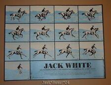 Jack White Rob Jones Asheville North Carolina Poster Print Signed Numbered 2012