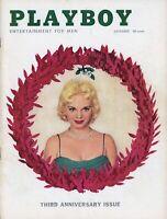 PLAYBOY DECEMBER 1956 Lisa Winters Tallulah Bankhead Carol Haney JoanDiener (3)