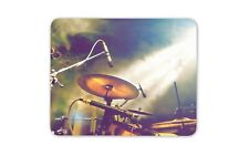 Drum Kit Mouse Mat Pad - Musician Music Band Drummer Cool Computer Gift #16491