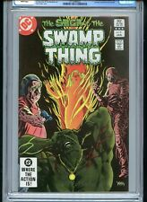 Swamp Thing #9 1983 CGC 9.8 White Pages Black Cover
