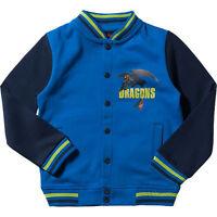 Sweat Jacke Dragons Gr.104 /110 NEU Drachen zähmen Ohne-Zahn blau college kinder