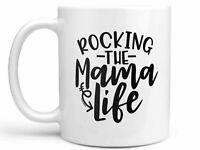 Rocking The Mama Life Coffee Mug Mom Mug Coffee Mug For Mom Gift For Mom Mug