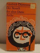 1956 First Edition Friedrich Durrenmatt Der Besuch Der Alten Dame Hardback HJ