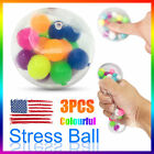 3X Squishy Sensory Stress Reliever Ball Toy Autism Squeeze Anxiety Fidget Relief