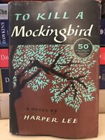 Harper Lee / TO KILL A MOCKINGBIRD 1st printing of 50th anniversary edition