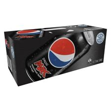 10Pc Schweppes Pepsi Max Carbonated Canned Soft Drink Refreshment 375mL