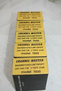 CHANNEL MASTER 23 db LINE TAPOFF #7233
